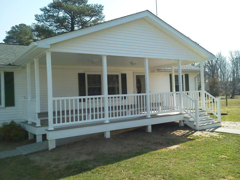 Front Porch Build
